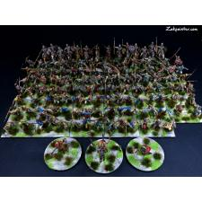 Painted 28mm GALLIC army